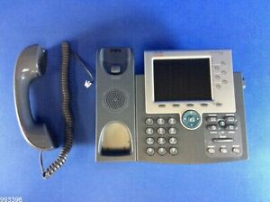 Cisco Uc Phone 7965g Gig Ethernet Color Cp 7965g 993396