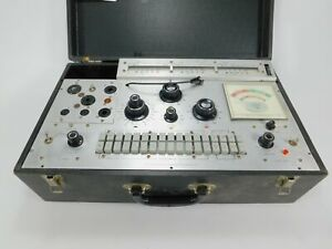 Jackson 658a Dynamic Output Vintage Tube Tester for Parts Restoration