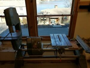 1955 Shop Smith table saw band saw jointer drill press disc sander