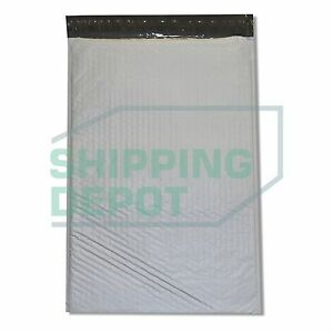 100 6 12 5x19 Poly Bubble Mailers Self Seal Envelopes 12 5 x19 Secure Seal