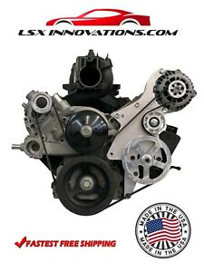 Ls Truck Billet Pulley Kit Power Steering Alternator And Idlers 4 8 5 3 6 0 Lm7