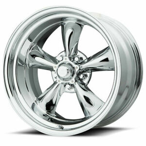 17x8 Chrome Wheel American Racing Vn615 Torq Thrust Ii 1 Pc 5x5 5x127 14 1
