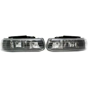 111155 Anzo Headlight Lamp Driver Passenger Side New For Chevy Suburban Lh Rh
