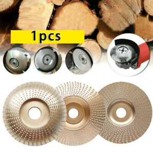 For Angle Grinder 4 In Wood Grinding Wheel Sanding Shaping Carving Disc Tool Kit