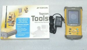 Topcon Fc 100 Data Collector Field Controller With Topsurv Software And Gps