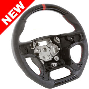 Handkraftd 15 Gmc Sierra 1500 2500 3500 Steering Wheel Gloss Black W Leather