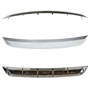 New Grille Trim Grill Lower Chrome For Ford Fusion 2010 2012