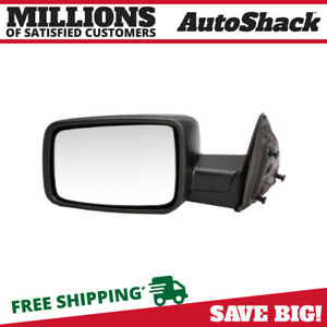 Side View Mirror Manual Black Driver For 2009 2012 Ram 1500 2010 2012 Ram 2500
