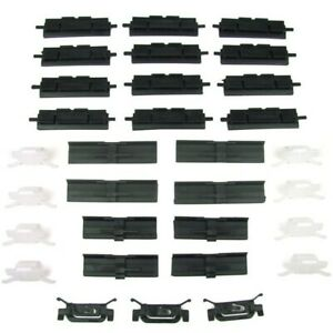 Pck 480 84 Precision Parts Set Of 31 Molding Clips New Sedan For Honda Accord