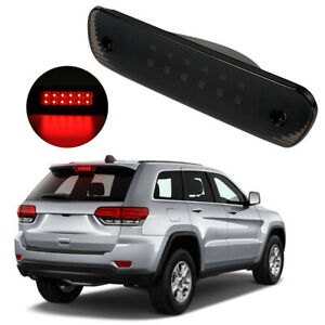 For Jeep Grand Cherokee 1999 2004 Red Led 3rd Third Brake Light Rear Cargo Lamp