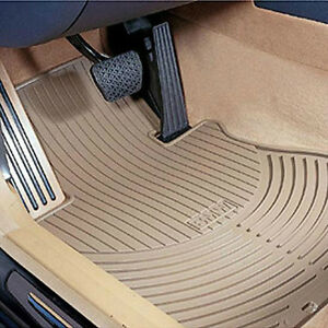 Bmw Beige Rubber Floor Mats 2002 2008 Z4 Roadster Coupe 2 5i 3 0si 82550151503