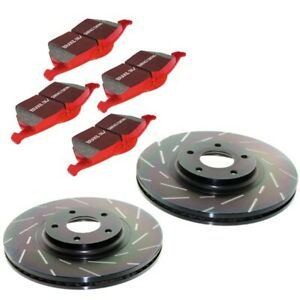 S4kf1093 Ebc Brake Disc And Pad Kits 2 Wheel Set Front New For Chevy Camaro