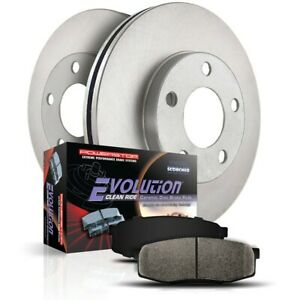 Koe5061 Powerstop Brake Disc And Pad Kits 2 wheel Set Rear New For Lexus Ls400