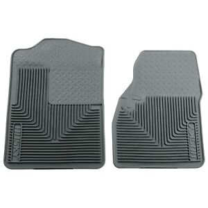 51042 Husky Liners Floor Mats Front New Gray For Ram Truck Van F250 F350 Sedan