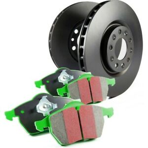 S11kr1037 Ebc Brake Disc And Pad Kits 2 wheel Set Rear New For Ford Mustang
