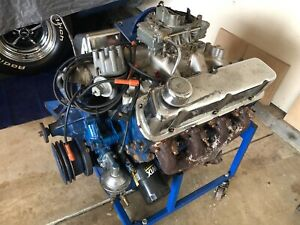 1969 Mustang Mach 1 351 Windsor Matching Numbers Engine With Fmx Trans