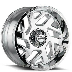 4 20 Off Road Monster Wheels M19 Chrome Rims b10