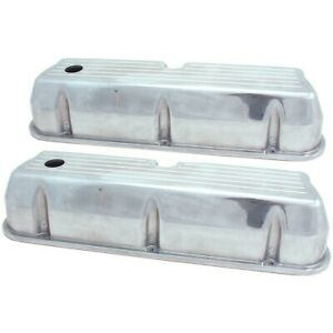 5019 Spectre Set Of 2 Valve Covers New Polished For Falcon Galaxie Ltd Pair