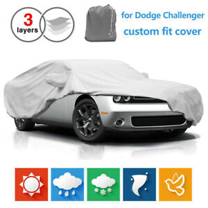 Car Cover For Dodge Challenger 2010 2019 Custom Fit All Weather Dust Waterproof