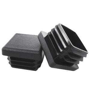 Heavy Duty Square Tubing Plastic End Caps Chair Glides Fence Post Caps Durable