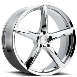 4 20 Mkw Wheels M120 Chrome Rims b4