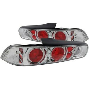 221004 Anzo Tail Lights Lamps Set Of 2 Driver Passenger Side New Lh Rh Pair
