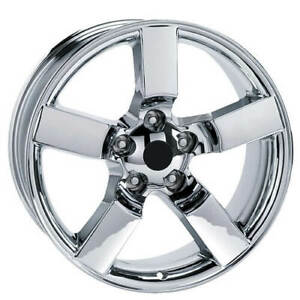 4 20 Ford Lightning Wheels Fr 50 Chrome Oem Replica Rims b3
