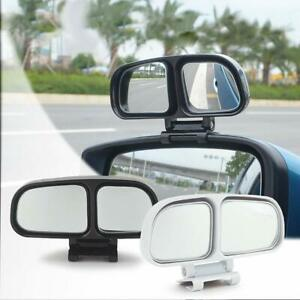 Car Rear View Blind Spot Parking Mirror Adjustable 360 Degree Wide Angle New