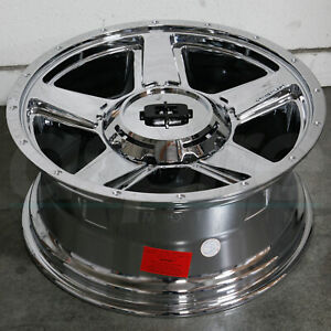 20x9 Chrome Wheels Vision 390 Empire 6x5 5 6x139 7 18 set Of 4