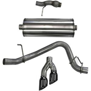 14859blk Corsa Exhaust System New For Chevy Chevrolet Tahoe Gmc Yukon 2015 2017