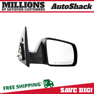 Side View Mirror Power Heated Black Passenger For 2007 2013 Toyota Tundra 5 7l