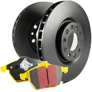 S13kr1601 Ebc Brake Disc And Pad Kits 2 wheel Set Rear New For Ford Mustang