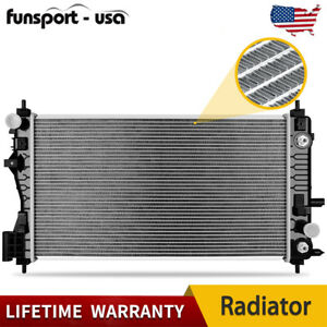 Radiator For Chevy Fit 2013 2016 Malibu 2014 2019 Impala 2 5 2 0l W Sensor Port