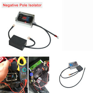 Dc 12v Negative Pole Isolator Car Double Battery Protector Controller Max 300a