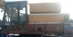 Chassis And Cab From A 1989 Case Excavator Model 125ckb No Engine