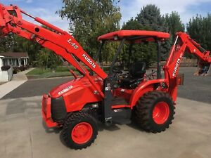 Kubota L45 Backhoe Loader