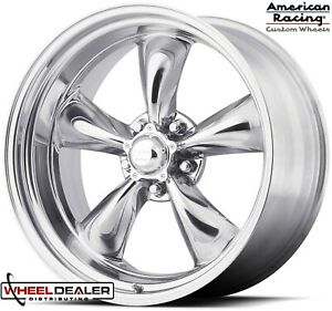 20 Inch Staggered American Racing Torq Thrust Ii Wheels For Ford F 100 5x5 5