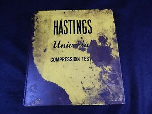 Hastings Compression Test Kit