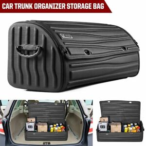 3d Universal Trunk Cargo Organizer Bag Handy Storage Pouch For Car Truck Suv