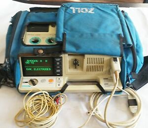 Zoll Pd 1600 Patient Monitor With Case And More Accessories