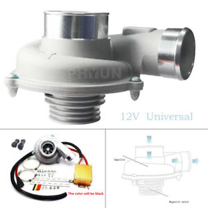 12v 16v Powerful Output Electric Turbo Supercharger Air Filter Intake Kit