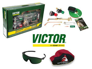Victor Performer Torch Kit Set W Regulators 0384 2125 Replaces 0384 2045