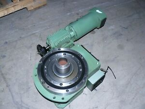 Manifold Indexing Sx 60 8 270 Rotary Indexer Positioner W Lenze 43 610 52 0 2 5