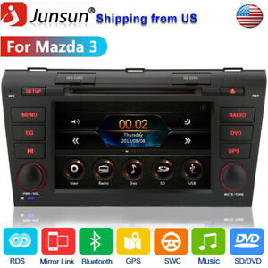 7 Car Stereo Radio For Mazda 3 2004 2005 2006 2007 2008 2009 Touch Gps Rds Us