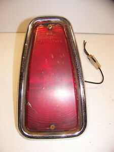 1969 1975 International Travelall Taillight Oem Lh Lower 1970 1971 1972 73 74