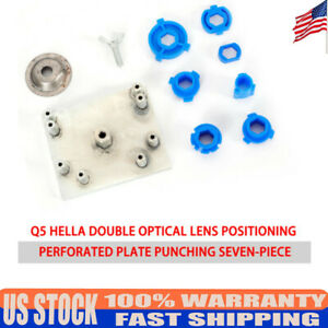 Metal Headlight Retrofit Tool Mounting Moulds Plate For Hella G3 Projector Lens