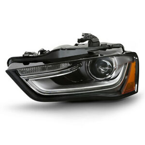 left Lh Driver Side Led Drl Headlight For 13 16 Audi A4 S4 Hid xenon Non afs