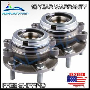 2 Front Wheel Bearing Hub Assembly Fits 2007 2012 Nissan Altima 2 5l