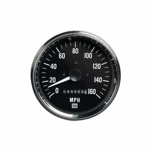Stewart Warner Performance Power Series Speedometer 0 160 Mph 5 Dia Electrical