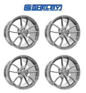 2016 2020 Ford Mustang Shelby Gt350 Staggered Aluminum Wheels 19 X 11